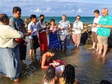 Bøn i Stillehavs-vandet